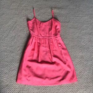 Jcrew spaghetti strapped dress